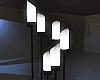 Glass Floor Lamp