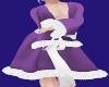 ~HD~Purple Bed Robe-m-