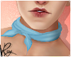 Blue Neck Scarf by Roy