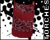 Red Bandana Wristband