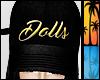 C| Dolls Gold Snapback