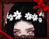 FSx} White Flower Crown