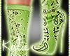 Green Bandana Boots