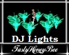 Flower DJ Lights Green
