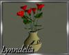 ~L~Flower w/vase - Mesh