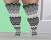 gray boots  rll