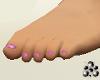 Bre FT Gliter Pink Nails