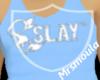 Slay Carolina Blue Tank