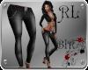 [BIR]Black Denim