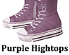 Hightop Shoes Lavendar