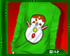 M| Snowman Green