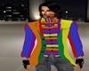Rainbow Suit Coat