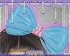 lBl Rainbow Heart Bow