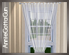 White Single Curtain