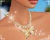 -Mm- aura fly necklace