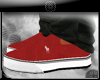 (kk)polo canv shoes-red
