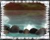 Ocean Rocks With Mist