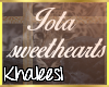 K: Iota Sweethearts