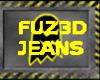 PQ~FUZ3D Ghost jeans