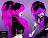 Violette punk