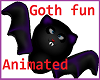 Goth Kids Toy to hold