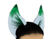 mint&white ears