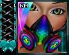 CyberGoth Rnbw Gas Mask