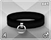 A| Black Cuff Set (M)