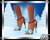Leann Blue Sandals