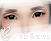 Gray Korean Brows