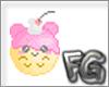 {FG} Mouse cream sticker