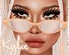 Feelin Peachy Glasses