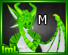 Green Dragon Neon Male