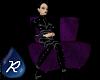 {R} Purple Romance Sofa