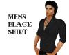 (20D) Mens shirt - black