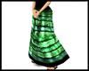 Hippy - Green skirt