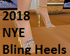 2018 NYE Bling Heels
