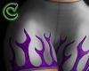 purple flames rll
