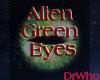 Alien Male Green Eyes