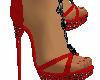 zapatos rojo