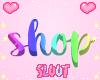 Rainbow Shop Sign
