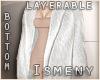 [Is] Fur Long Coat White
