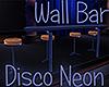 [M] Disco Neon Wall Bar