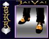 ~DaBoss Rock Orange Shoe