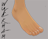 Normal size feet