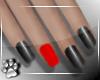 Nails -RedBlk