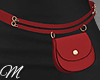 m: Belt Bag Red 02