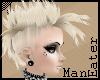 Punky blonde Mohawk