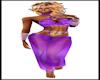 Purple Dream Bellydancer