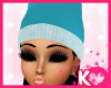 iK|Doll Snow-Hat Blue